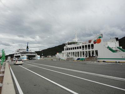 台風の港20110921