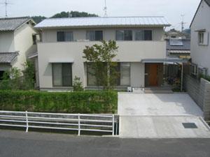 西崎の家090812