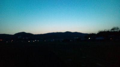 夕暮れ20120401