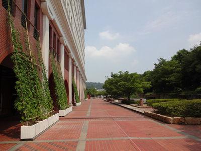 倉敷市役所庭
