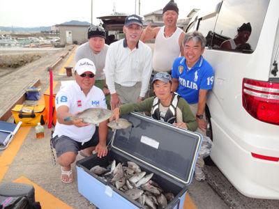 ぼ釣り大会20121004-4