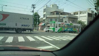 路面電車20120530