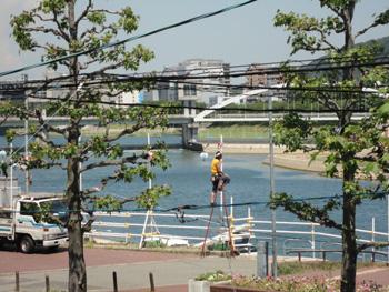 花火大会 20100724