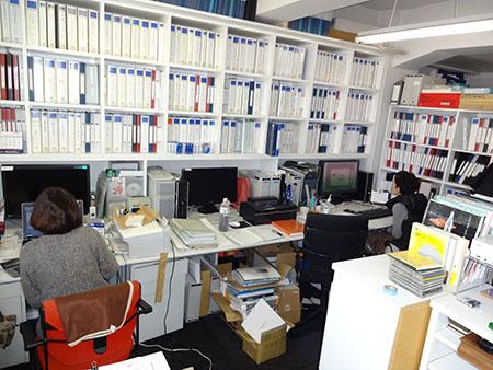 事務所2014年末