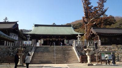 吉備津彦神社20130127-1