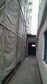 隣地工事20110710