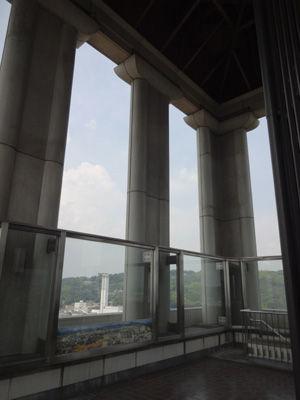 倉敷市役所展望台