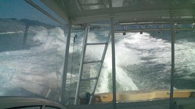 荒れる海20111016